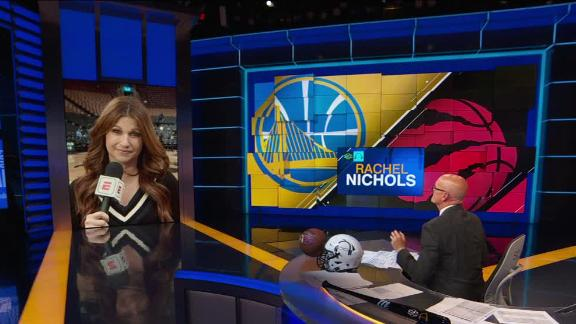 Nichols: Iguodala 'significantly limping' in locker room