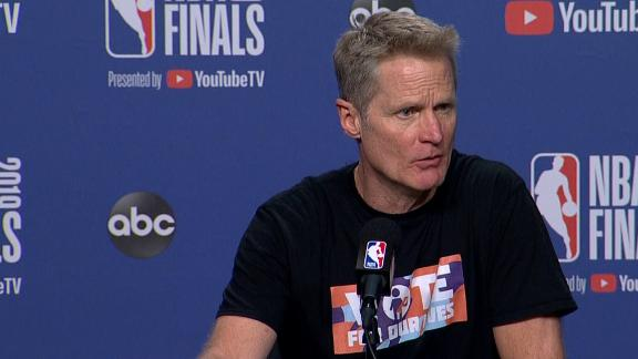 Kerr: Thompson 'can be half-dead... say he's fine'