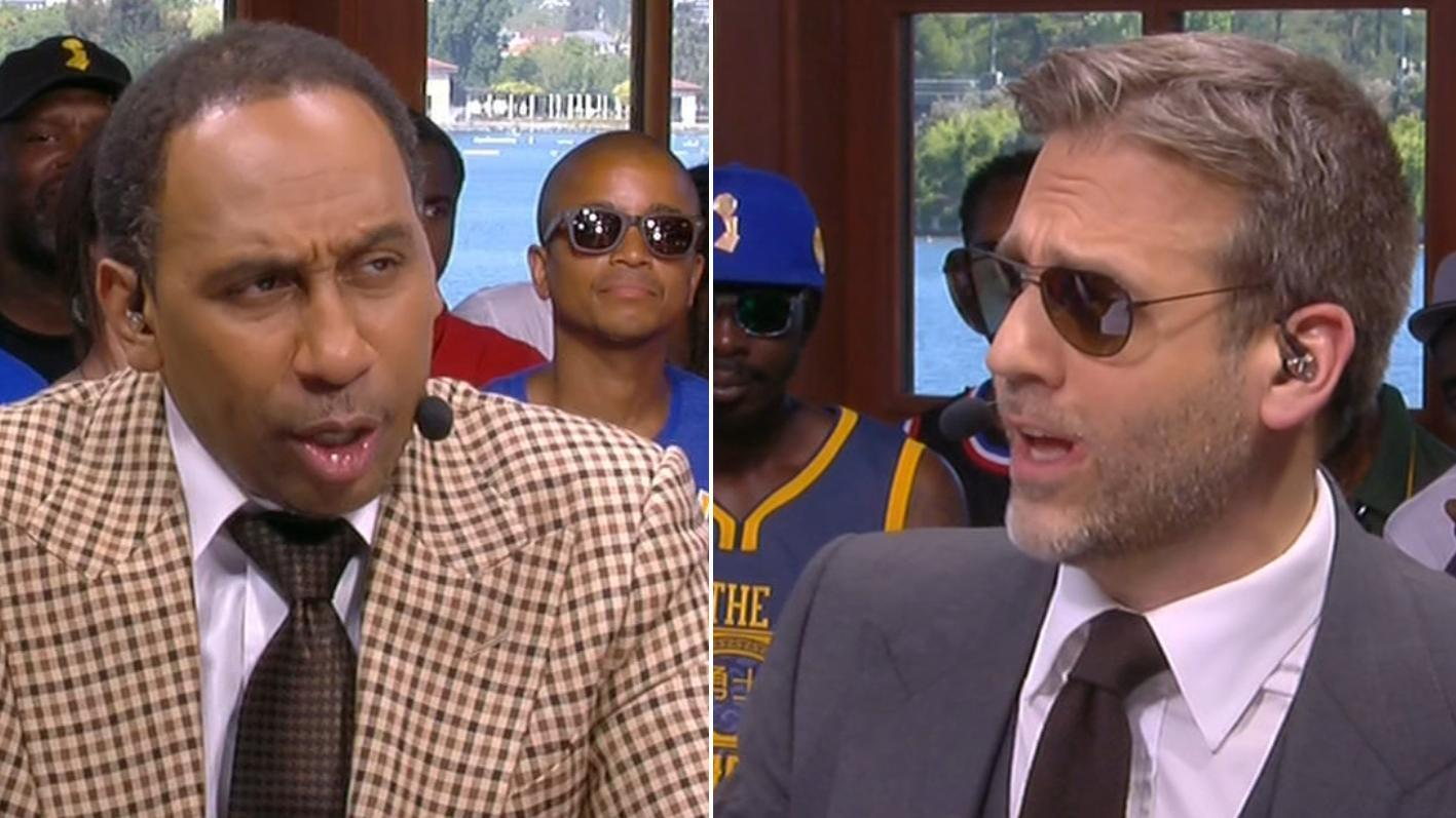 Stephen A., Max disagree on Steph as Finals MVP
