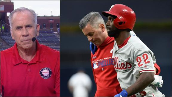 McCutchen injury a 'bad loss' for Phillies