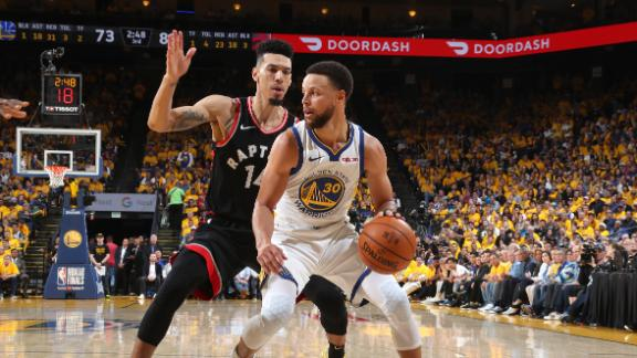 Curry scores playoff career-high 47 in loss