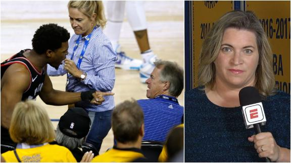 Shelburne: Warriors investor won't attend any more Finals games