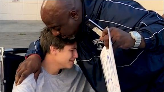SC Featured: Horrific football injury builds unlikely friendship