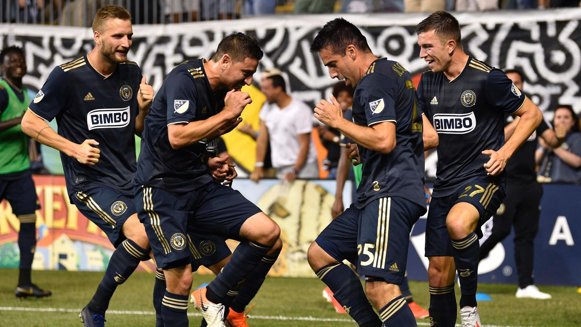 Union come from 2-0 down to beat Red Bulls