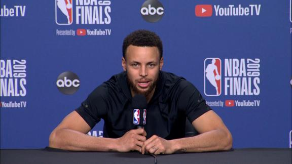 Curry: Durant will be a powerful weapon if he plays in Game 5