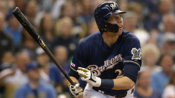 Yelich, Moustakas go deep for Brewers in win over Pirates