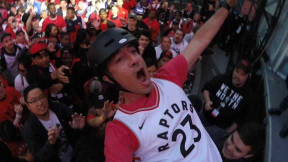 Jurassic Park is as much an event as the Raptors' games