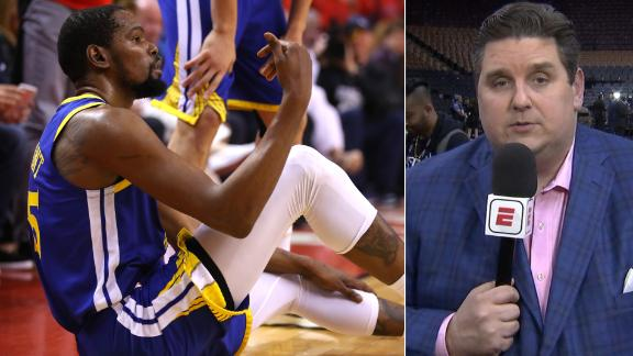 Windhorst on Durant's injury: 'Entire NBA just changed'