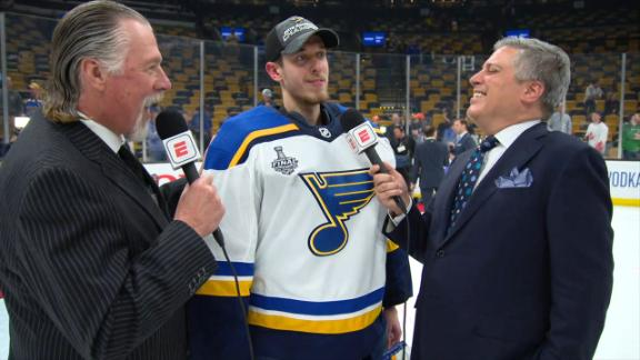 Binnington: I'm so excited to celebrate this with St. Louis