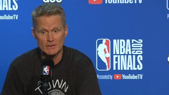 Kerr addresses handling of KD situation