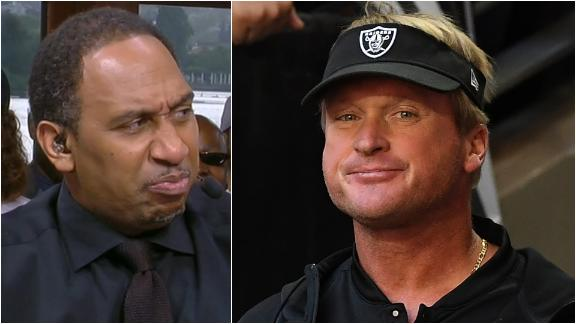 Stephen A. loves the Raiders on 'Hard Knocks'