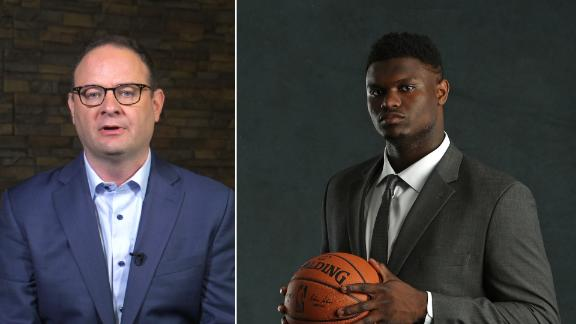 Woj: Pelicans can contend after drafting Zion, trading Davis