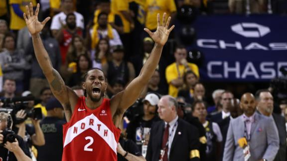 Raptors take Game 6, win first NBA title