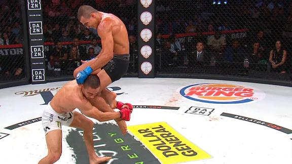 Aaron Pico KO'd with flying knee