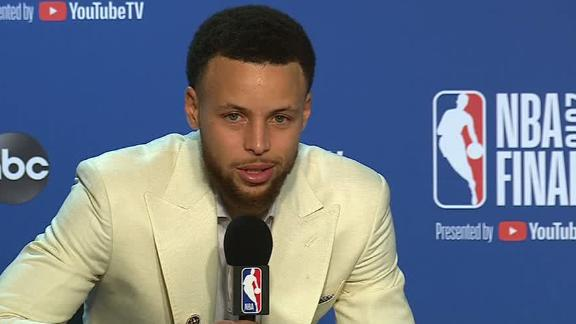 Curry: Don't bet against Dubs return to NBA Finals in '20