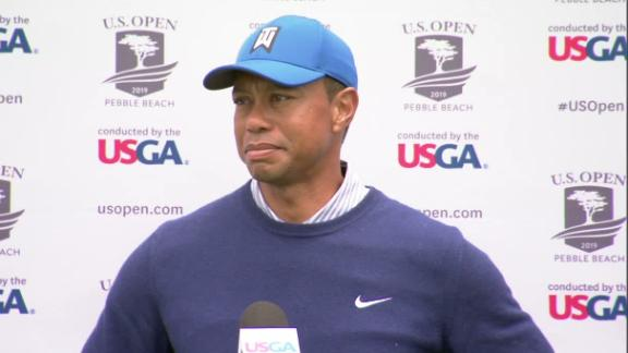 Tiger upset after finish of Round 2