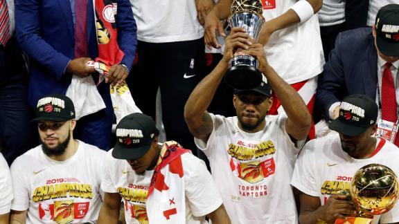 The Raptors' improbable run 'a triumph'