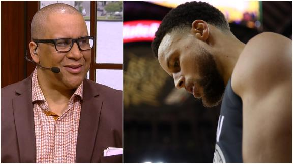 Spears: Curry 'punched a wall' after Game 6