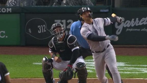 Torres, Maybin go yard in Yankees' win