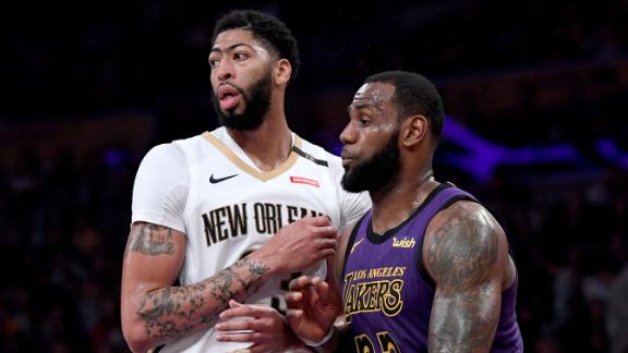 Nichols: Davis trade 'good deal for both' Lakers, Pelicans