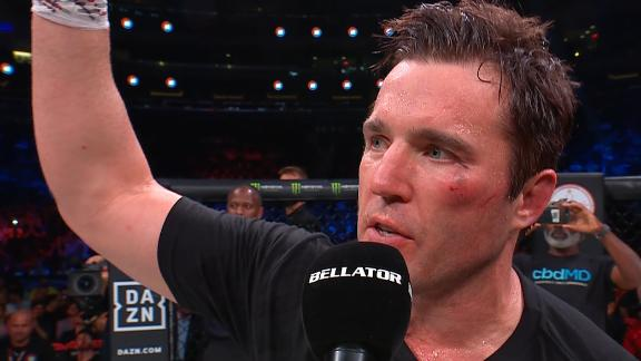 Sonnen retires after loss to Machida