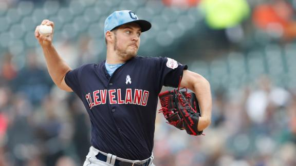 Bauer fans 8 in shutout victory