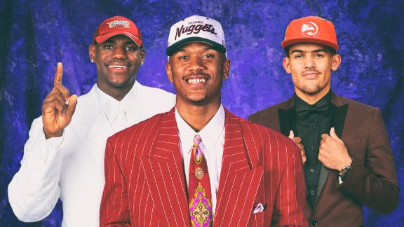 Five notorious NBA draft day outfits
