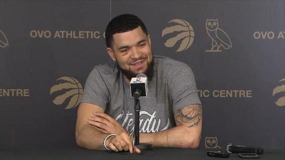 VanVleet: If Kawhi is on another team, 'we'll just have to kick his a**'