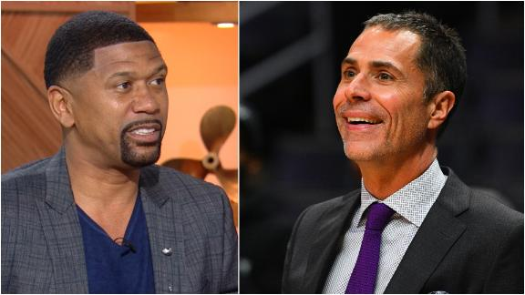 Jalen: 'Can we put some respect on Rob Pelinka's name?'