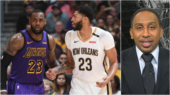 Stephen A.: Lakers as title favorites is 'valid'