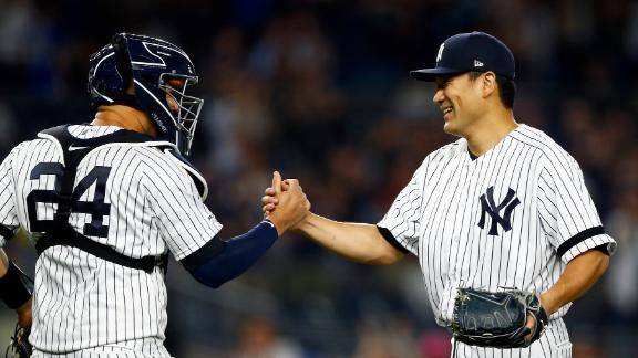 Tanaka shuts down Rays in 2-hit shutout