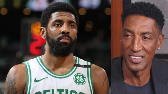 Pippen: Boston wasn't a 'great fit' for Kyrie