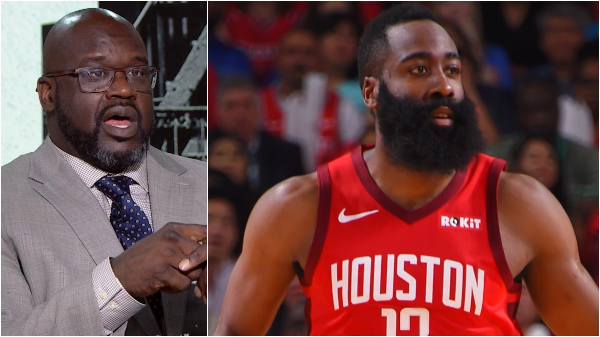 Shaq: Tension between Harden and CP3 isn't the Rockets problem