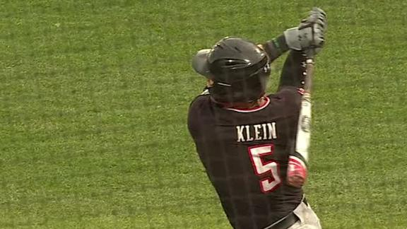 Red Raiders' Klein crushes homer to right