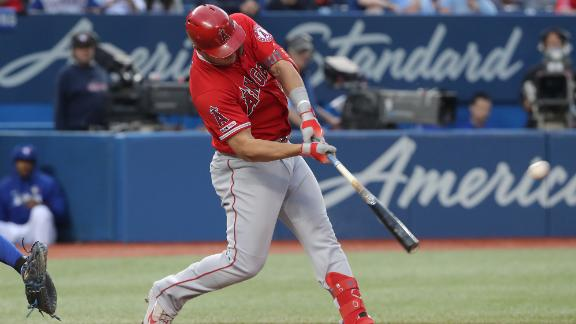 Trout whoops grand slam and 2-run HR in win vs. Jays