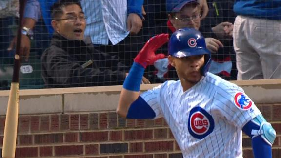 Contreras cranks 2 home runs in Cubs' win