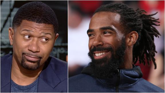 Jalen: Conley's trade to Jazz will benefit Mitchell