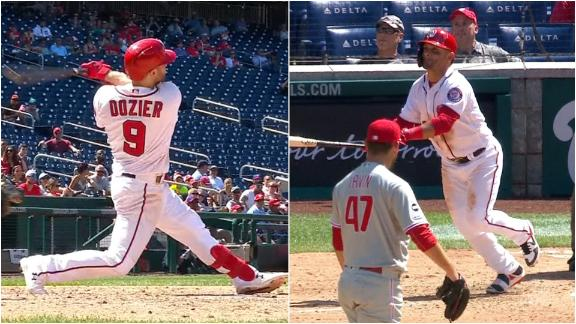Dozier, Parra hit back-to-back HRs in Nationals' win