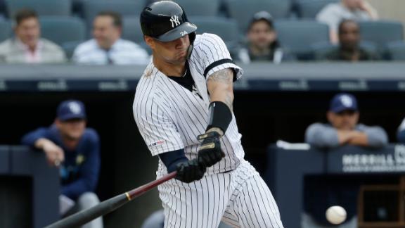 Sanchez's 3-run HR highlights Yankees' 6-run 1st inning