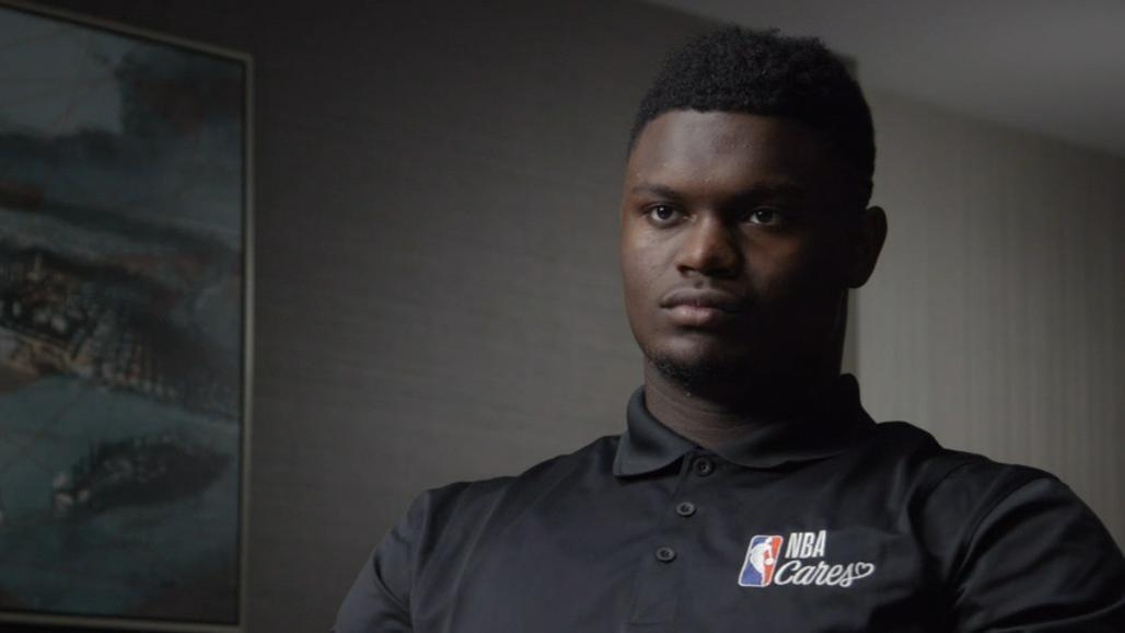 Zion feels no pressure being the face of a franchise