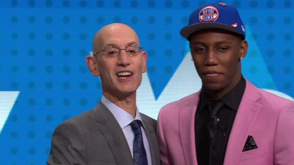 Knicks take Barrett at No. 3