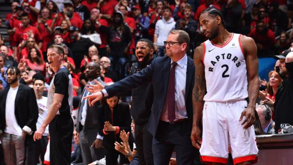 Nurse and Kawhi never addressed free agency