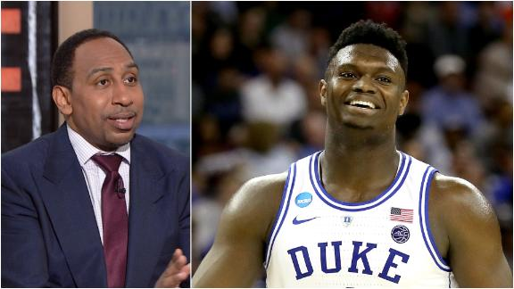 Stephen A.: Zion's allure makes him best prospect since LeBron