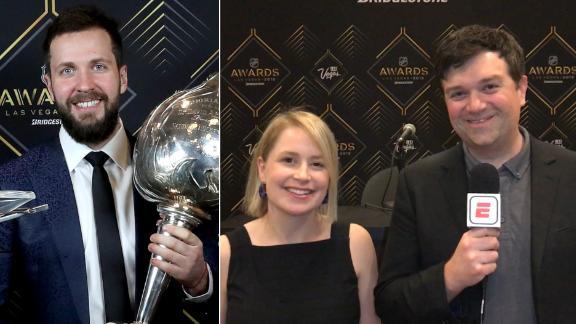 Lightning, emotional moments highlight NHL Awards