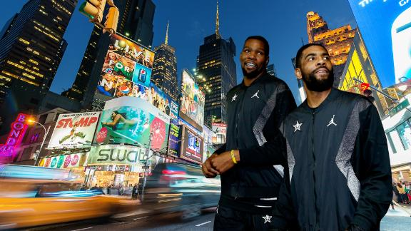 Could KD, Kyrie save 'Gotham City,' sign with Knicks or Nets?