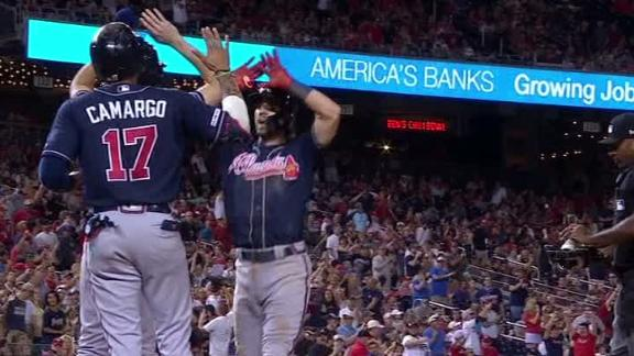 Swanson's 3-run HR puts Braves in the lead