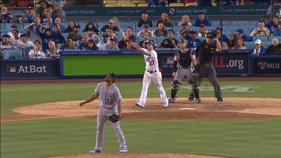 Verdugo's long ball lifts Dodgers to walk off in 11th