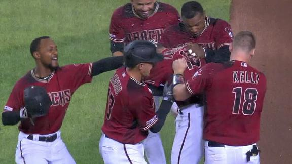 Locastro walks it off for D-backs