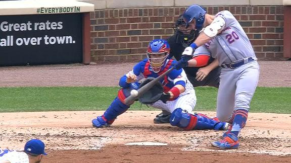 Alonso sets Mets rookie HR record