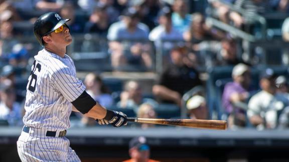 LeMahieu's three-run shot gives Yankees a HR in 26 straight games